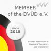 German Association of Freelance Translators and Interpreters member badge